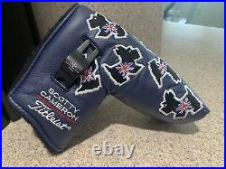 2004 Titleist Scotty Cameron British Open Scotland UK Dog Headcover + Pivot Tool
