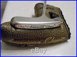 2005 Scotty Cameron American Classic lll Blade Putter With Headcover & Divot Tool