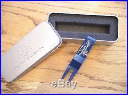 2009 Scotty Cameron Titleist Pga Fly Blue Divot Tool Very Rare New