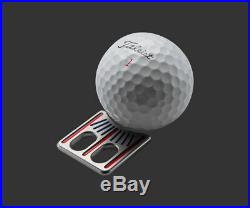 2019 Scotty Cameron Ball Alignment Tool Translucent Red/Blue US Open Marker