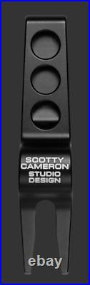 2020 Scotty Cameron Las Vegas Showgirl Clip Pivot Tool Misted Black