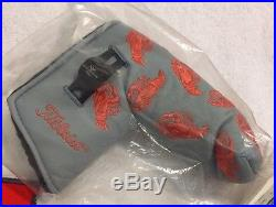 BNIB Scotty Cameron 2003 Dancing Lobster Putter Headcover Cover with Pivot Tool