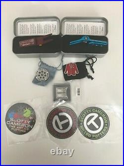 Brand NEW Scotty Cameron Pivot Tools, Ball Tool, Coins, Stickers