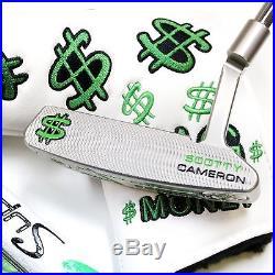 CUSTOM Scotty Cameron Putter NEWPORT2 34 Big Money Cash Divot tool Edition