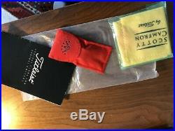Cameron AOP Oil Can Newport 33/350-Headcover, Cloth, Divot Tool, Docs, New Grip