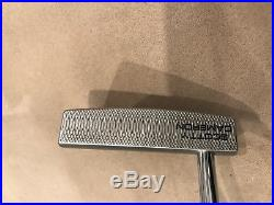 LH Milled Scotty Cameron Fastback Golf Putter. 35. Beauty Hdcvr Tool Wgts