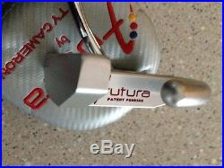 Lh Scotty Cameron Futura with matching headcover and devit tool