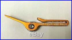 Limited Tour Use Only Scotty Cameron Orange Divot Clip Roller Tool