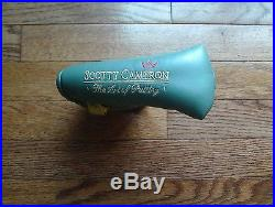 MINT Titleist Scotty Cameron RARE SAGE Art Of Putting Putter Cover withDivot Tool