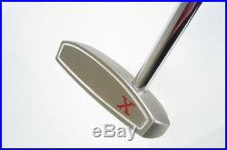 Mint! SCOTTY CAMERON RED X 350G 33 PUTTER withHEADCOVER & DIVET TOOL