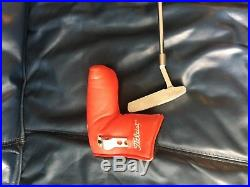 Mint Titleist Scotty Cameron 303 Newport 2 Putter with Head cover & Tool