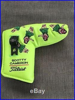 NEW Scotty Cameron HULA Girl HAWAII Lime 2004 Divot Pivot Tool Putter Headcover