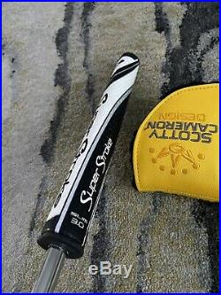 NEW Scotty Cameron Phantom X 7.5 34 Inch Golf Putter EXTRA WEIGHTS/TOOL Included
