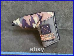 NEW Titleist Scotty Cameron Club 2017 Camo Putter Headcover Without Tool