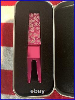 NIB 2019 Scotty Cameron Master Azalea Clip Pivot Tool Bright Dip Pink