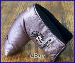 New 2003 Scotty Club Cameron Memb Putter Headcover Cover with Tool Dark Copper