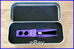 New RARE Scotty Cameron FOR TOUR USE ONLY Purple Roller Clip Divot/Pivot Tool
