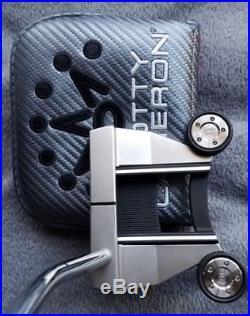 New RH Titleist Scotty Cameron Select Futura 6M 33 withHC, SC Pivot Tool, ProV1X