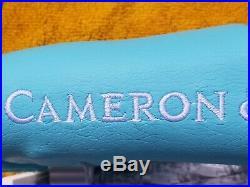New Rare Scotty Cameron GSS Cameron & Co Tiffany Headcover with Pivot Tool (NOOB)