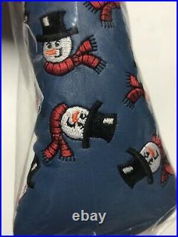 New! Scotty Cameron 2003 Dancing Snowmen Putter Headcover with Pivot Tool BNIB