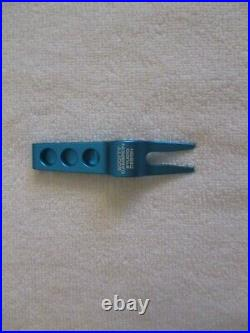New Scotty Cameron Blue Grove XXIII Divot Tool- MJ Michael Jordan- Factory Tin