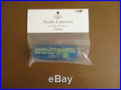 New Scotty Cameron Blue/Lime Circle T Putting Path Tool- New in Bag
