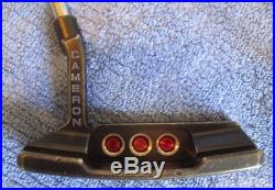 Nice Scotty Cameron Newport 2 Select Putter 33.5 Black Extra Weights & Tool