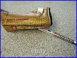 RARE Scotty Cameron American Classic III WIDE Flange + H/C & Tool. Mint