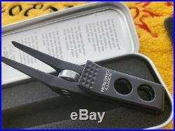 Rare 2011 Scotty Cameron Roller Clip Pivot/Divot Tool Flat Black NEW