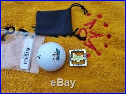 Rare Scotty Cameron MASTERS LIME SCOTTY DOG Alignment Tool Ball Marker NIB
