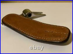 Rare Valuable Scotty Cameron Divot Tool Inicial with Leather Case Used 495/MN