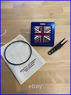 SCOTTY CAMERON British golf bag tag & divot tool