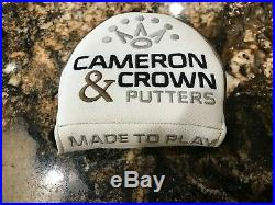 SCOTTY CAMERON & CROWN FUTURA X5R R/H 33.75 WithCVR CT 20g WEIGHTS TOOL ORIG GRIP