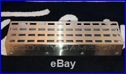 SCOTTY CAMERON Creations Stainless Steel Divot Tool Display Rack. Rare Item
