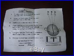 SCOTTY CAMERON JYD Blue/Cherry Blossom Ball Marker/Alignment Tool NEW