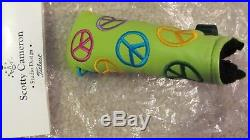 SCOTTY CAMERON PEACE SIGN HEAD COVER WithPIVOT TOOL LIMITED EDITION NEW