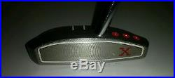 SCOTTY CAMERON RED X 35 RT HANDED HEEL SHAFTED MALLET PUTTER withHeadcover & tool