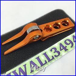 SCOTTY CAMERON Roller Pivot Tool Divot Clip Bright Orange Titleist New in Tin