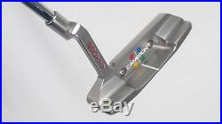 SCOTTY CAMERON STUDIO STYLE NEWPORT 2 350g 33 PUTTER with HEADCOVER & Divot Tool