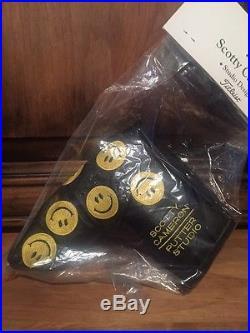 SCOTTY CAMERON Smiley Face HEADCOVER & DIVOT TOOL Ultra Rare
