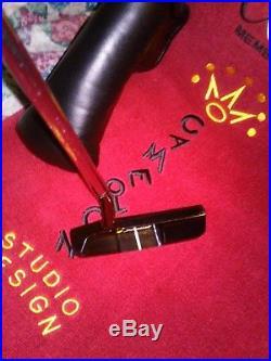SCOTTY CAMERON Studio Design TOUR Yellow Dot/350gram head weight with towel+tool