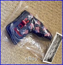 Scotty Cameron 2001 9/11 Dancing US Flags Headcover & Divot Tool BNIB