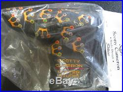 Scotty Cameron 2002 Mini Crowns BLACK Pivot Tool BLADE Putter Cover Titleist NIB