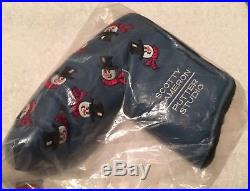 Scotty Cameron 2003 Dancing Snowmen Holiday Putter Headcover Cover with Pivot Tool