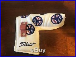 Scotty Cameron 2004 USA Peace Sign Headcover RARE BRAND NEW with Tool