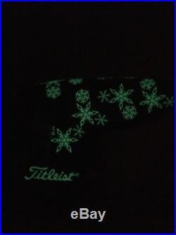 Scotty Cameron 2005 Snowflake Headcover Glows In The Dark & Pivot/divot Tool