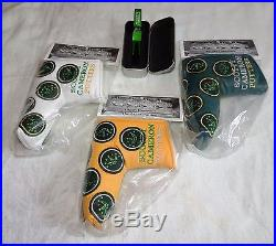 Scotty Cameron 2012 Augusta 3 Headcover set with Pivot Tool brand new in bags