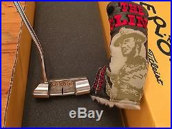 Scotty Cameron 2014 The Clint Putter Headcover And Pivot Tool New 35