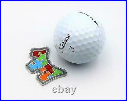 Scotty Cameron 2014 member multi Color Puzzle Dog Tool Ball Marker