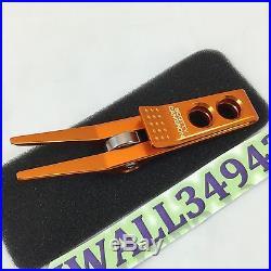 Scotty Cameron 2015 Roller Clip Pivot Divot Tool Bright Orange New in Tin